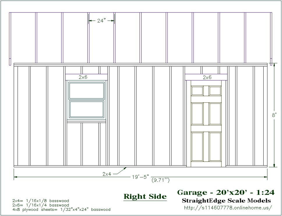 Free plans for Build your own garage plans free